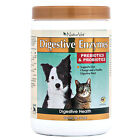 NaturVet DIGESTIVE ENZYMES & PROBIOTICS Healthy Digestion Dog & Cat CHOOSE SIZE