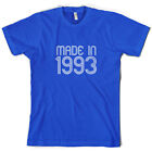 Made In 1993 - Mens 21st Birthday Present / Gift T-Shirt - 10 Colours