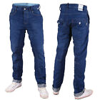 Mish Mash Mens Designer 1987 Blue Pacific Tapered Jeans Reduction Sale