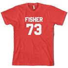 Fisher 73 - Mens T-Shirt - Eddie - Republic - 10 Colours - S-XXL - FREE UK P&P