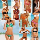 Lady's Push Up Padded Beach Bikini Set Swimsuit Underwire Bra Swimwear 6 8 10 12