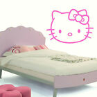 LARGE HELLO KITTY WALL STICKER TRANSFER IN MATT VINYL DECAL TRANSFER DESIGN