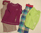 TOTAL GIRL Size 4 Cotton Flannel Pant 4-5 polyester Top Choice NWT Sleepwear