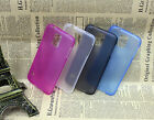Black White Blue Pink Transparent Ultra Thin Hard Case For Samsung S5 i9600