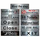 11 Design Pub Shop Business office Bathroom Letterbox Door Signs Notice Plate