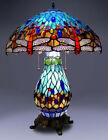 New Tiffany Style Dragonfly Table Lamp Stained Glass Tiffany style lighting