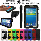 Galaxy Tab 3 7.0 T210 P3200 Tough Hard HEAVY DUTY Shock Protective Survival Case