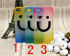 Stylish Fashion Colorful Happy Smiley Face Hard Cover Case For iPhone 4 4S