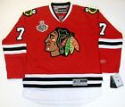 BRENT SEABROOK CHICAGO BLACKHAWKS 2010 CUP RBK JERSEY