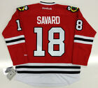 DENIS SAVARD CHICAGO BLACKHAWKS REEBOK PREMIER HOME JERSEY NEW WITH TAGS