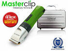 Cordless Vet Trimmer Quiet Clipper Ideal for Pre-Op Clipping by Masterclip