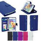 Luxury PU Leather Case Wallet Flip Cover Stand for Samsung Galaxy S5 SV i9600