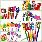 6 Animal Car Flower Pencil Wood Toy Kid Party Favor Supply Bag School Prize Gift