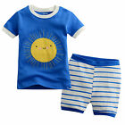 "NWT Vaenaitbaby Toddler Kids Baby Boy Short Sleepwear Pyjama Set ""Stripe Sun"""