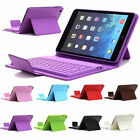New Leather Case Cover with Bluetooth Wireless Keyboard Stand for iPad Mini