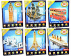 3D Puzzles LONDON BUS TOWER BRIDGE BIG BEN EIFFEL TOWER TITANIC PIRATE SHIP
