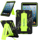 Hybrid Heavy Duty Hard/Soft Silicone Case Cover with Stand For APPLE iPad 2 3 4