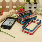 0.7mm Ultra-thin Aluminum Metal Blade Frame Bumper Cover Case For iPhone 4 4S