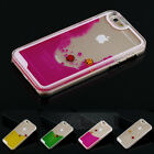 Freely Swimming Fishes Movable Hard Case Cover Skin for Apple iPhone 5 5G 5S