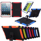 FOR iPad 2 3 4 5 Mini Rugged Heavy Duty ShockProof Hard Stand Protector TPU Case