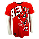2014 Offizielle Marc Marquez 93 Die Ameise Cartoon Moto GP T-Shirt Rot