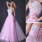 Bridesmaid Women Princess Ball Evening Prom Graduation Cocktail Party Dress Gown