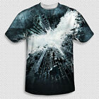 The Dark Knight Rises Movie Poster All Over Front Sublimation Youth T-shirt Top