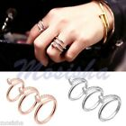 Celebrity Jewelry Style Nail Design Bangle Screw Twisted Finger Rings Punk Gift