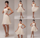 So Cheap~ Bridal Chiffon Pin~up Formal Party Evening Prom Dress Ball Gown Dress