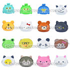 Womens Mini Candy Animal Shape Cartoon Silicone Coin Purse Cosmetic Bag Wallet