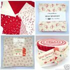 WINTER WONDERLAND christmas jelly roll layer cake or charm pack 100 % cotton