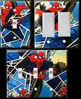 Spiderman custom Light Switch wall plate covers man cave room decor
