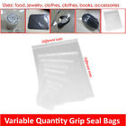 Grip Self Press And Seal Zip Lock Bags Poly Plastic Clear Seal Bag Food Saver
