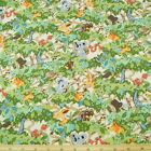 Australian Outback Animals Forest 100% Cotton Fabric