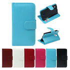 1PC Leather Wallet Flip Cover Case For Samsung Galaxy S4 mini i9190 Newest Vogue