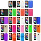 Various Colors Silicone Rubber Soft Case Cover Skin For NOKIA Lumia 635