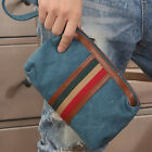 New Classic Men's Striped Canvas Bags For Small Parts Convenient Handbags AB183