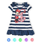"New Girls Princess Elegant ""Minnie Mouse"" Sailor Dress outfit from 1-5Yrs"