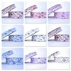 BY THE ROLL - CUTE PRINTED PASTEL BIAS BINDING trim folded 18MM OR 30MM WIDE