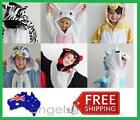 NEW Kids Animal Fleece Onesies Costume Pyjamas Childrens Pajamas Age 3-7 Years