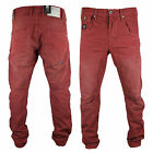 Jack & Jones Mens New Red Stan Osaka Twisted Leg Jeans WAS £60 NOW 50% OFF