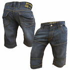 Mish Mash 2130 Icarus Mens New Denim Cargo Summer Shorts Size 32 34 Was £59.99
