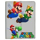 Super Mario Flying Collectible iPad 2/3/4/Mini/Air Flip Case Stand