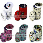 Double cover The small cylinder  Tea Food Storage Tea caddy Tins canister Boxes