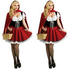 Cute Little Red Riding Hood Halloween Party Women Costumes Fancy Dress Outfit
