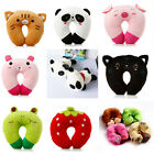 Soft Office Car Air Travel Neck Cushion Rest Plush U Shaped Pillow Support Gift