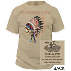 New Grateful Dead Spring 1990 Live Tour Garment Dyed T-shirt top Jerry Garcia
