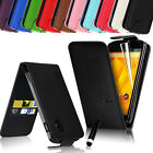 Leather Wallet Pouch Case Cover For LG Google Nexus 4 E960 + Screen Protector