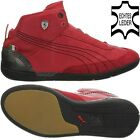 Puma DRIVING POWER MID SF men casual shoes trainers red leather OP NEW