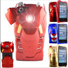 Iron Man Mark VII Collectible Toy Case For iPhone 4 4S 5 5G Avengers LED Armor